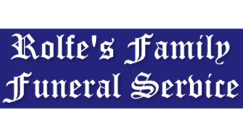 Logo for Rolfe's Family Funeral Service