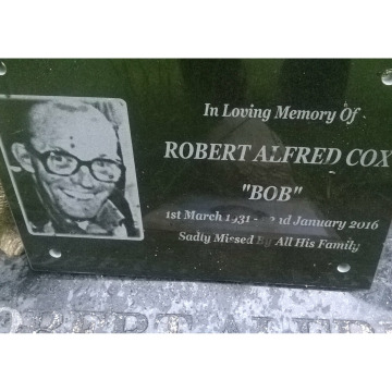 Photo for notice Robert Alfred COX