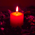 Candle for notice TERENCE COOPER