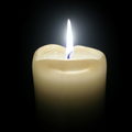 Candle for notice JOAN YOUNG
