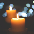 Candle for notice Rita Joy Gann TOOKE
