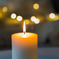 Candle for notice John William THURSTON