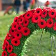 Candle poppywreath