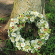Candle whitewreath